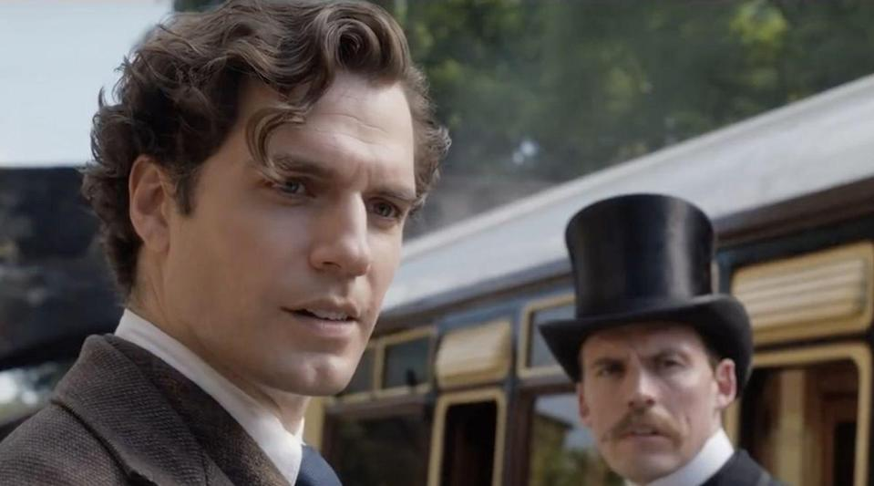 """<p>Unlike other versions of Sherlock Holmes seen over the years, Cavill—best known <a href=""""https://www.menshealth.com/entertainment/a32718914/henry-cavill-gym-selfie-superman-training-instagram/"""" rel=""""nofollow noopener"""" target=""""_blank"""" data-ylk=""""slk:for playing quite a famous superhero"""" class=""""link rapid-noclick-resp"""">for playing quite a famous superhero</a>—finds a way to bring out a more human, vulnerable side to the detective; it feels like a new twist on the colder versions of the character we've previously seen. This Sherlock is aware of his mistakes, and regrets how he abandoned younger sister Enola (Millie Bobby Brown). But he's standing up and becoming a family man all on his own… while still solving cases, of course. <em>- Adrianna Freedman</em></p><p><a class=""""link rapid-noclick-resp"""" href=""""https://www.netflix.com/title/81277950"""" rel=""""nofollow noopener"""" target=""""_blank"""" data-ylk=""""slk:Stream Enola Holmes Here"""">Stream <em>Enola Holmes </em>Here</a></p>"""