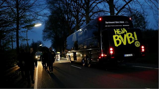 Chancellor of Germany Angela Merkel has offered Borussia Dortmund her support after the team bus was hit in an apparently targeted attack.