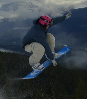 Pullin once seemed destined for the Olympic slopes