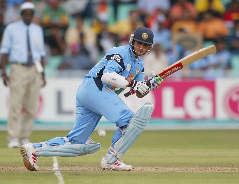 Sourav Ganguly in action