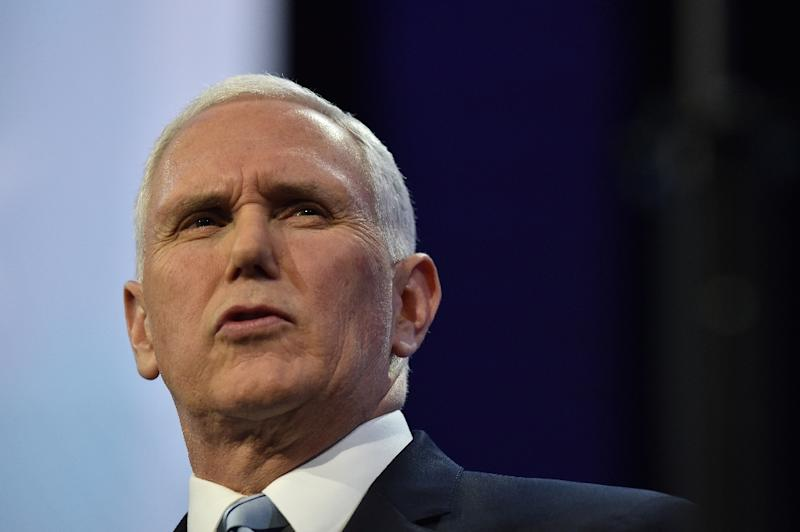 US Vice President Mike Pence is in Lima for the Summit of the Americas in place of President Donald Trump, who remained in Washington to prepare the US response in Syria