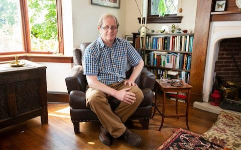 Doctor David Mackereth at home in Dudley, West Midlands - Credit: Andrew Fox