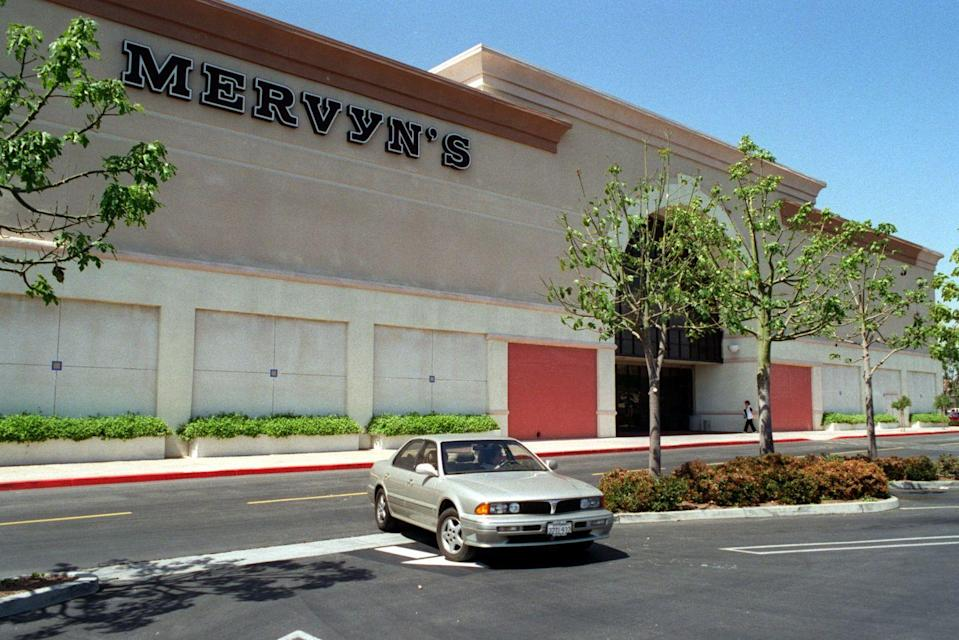 """<p>Started by Mervin G. Morris in 1949 in San Lorenzo, California, the company grew to almost 200 stores, mostly in the West. The mid-price chain boomed in the '70s, but when it began expanding outside of California, it stumbled. Stores <a href=""""https://abcnews.go.com/Business/story?id=6062384&page=1"""" rel=""""nofollow noopener"""" target=""""_blank"""" data-ylk=""""slk:began closing across the country"""" class=""""link rapid-noclick-resp"""">began closing across the country</a> in the early 2000's. The company filed for bankruptcy in 2008, shuttering all of its stores.<br></p>"""