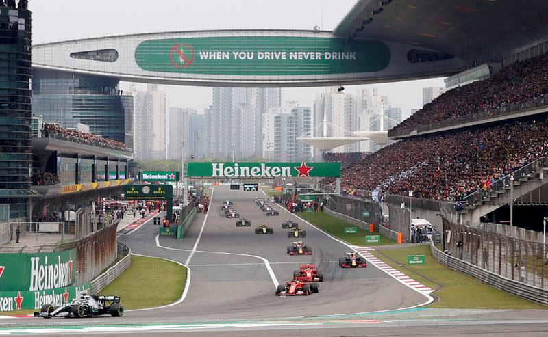 FILE PHOTO: Chinese Grand Prix