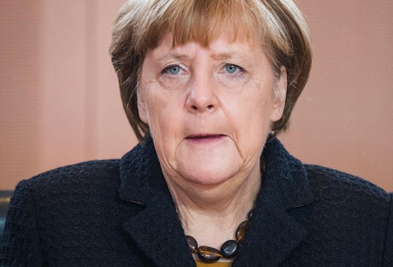German Chancellor Angela Merkel, seen January 11, 2017, is seeking a fourth term in an election expected in September and has faced harsh criticism over the mass influx, including from within her own conservative ranks (AFP Photo/Odd ANDERSEN)