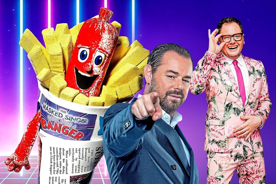 <p>Which celebrities are behind the masks?</p> (ITV)
