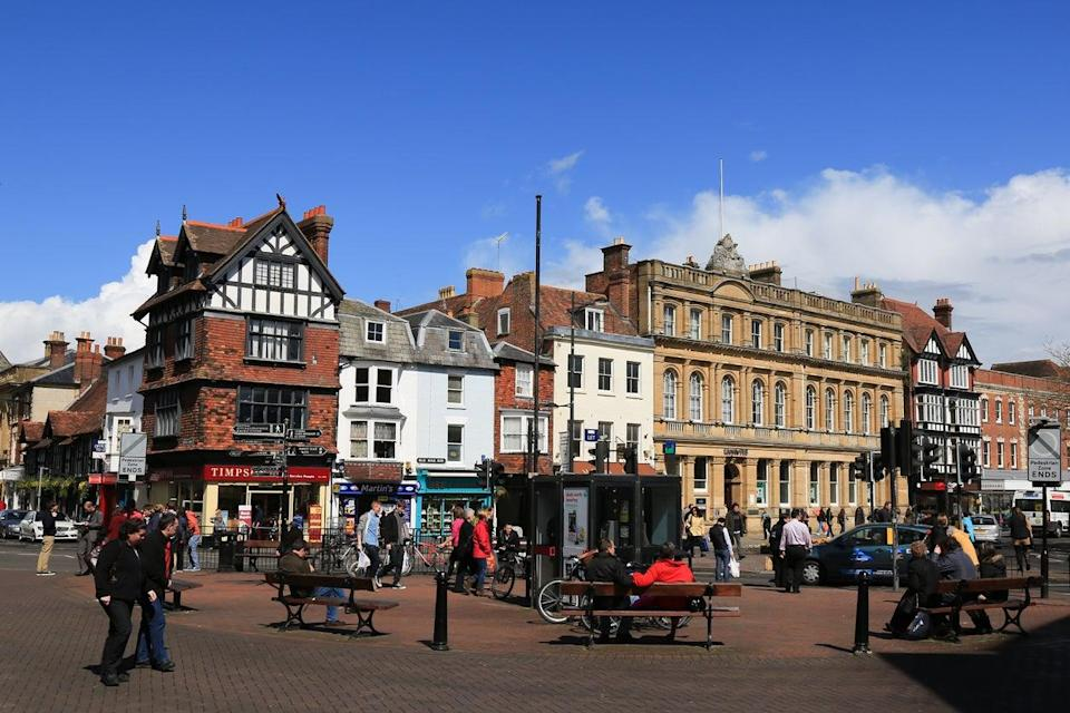 Salisbury has plenty of independent shops alongside chains (Getty Images)