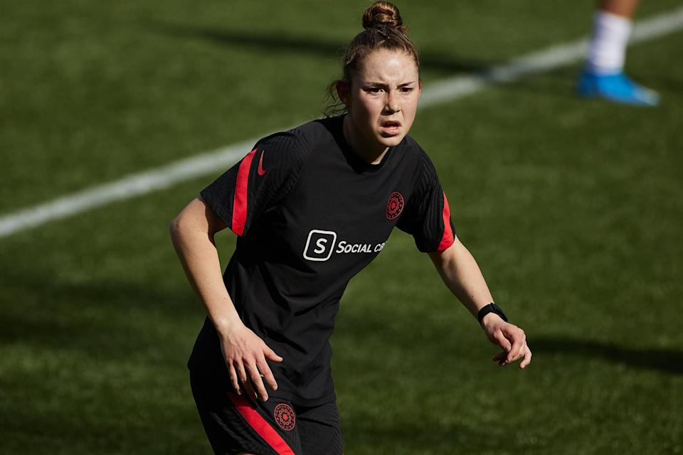 Olivia Moultrie Sued the NWSL to Be Able to Play