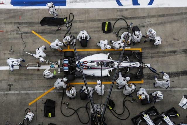 F1 at its fastest: Felipe Massa and his pit crew in action