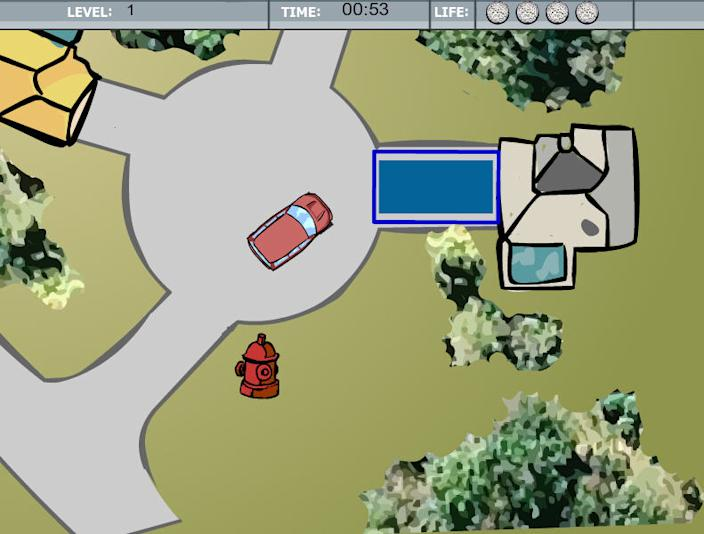 tiger parking slam from addicting games