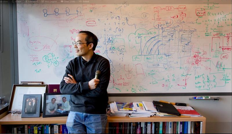 Xuedong Huang, a Microsoft technical fellow and the chief technology officer of Azure AI Cognitive Services.