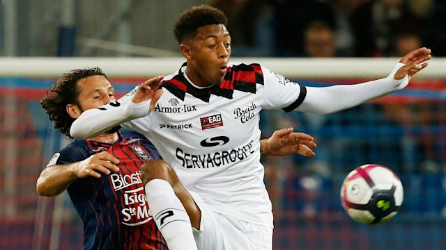 The French club announced on Friday that the striker, who had been on loan at Valenciennes, has passed away