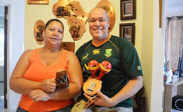 Not-for-profit GCO Agencies directors Charmaine and Graham Oosthuizen hope people will support its Tri-Nations Cultural Exchange Program by attending the Valentine's Ball at the Gary Holland Community Centre next week. Picture: Hayley Goddard