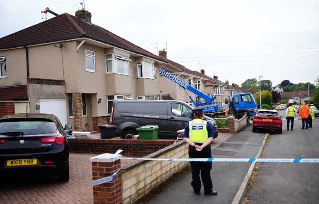 Police were called to the Mangotsfield area of Bristol on Monday (Ben Birchall/PA)