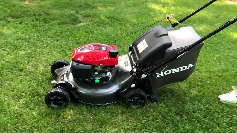The Honda HRN216VKA's power and handling make it the best lawn mower we've tested.