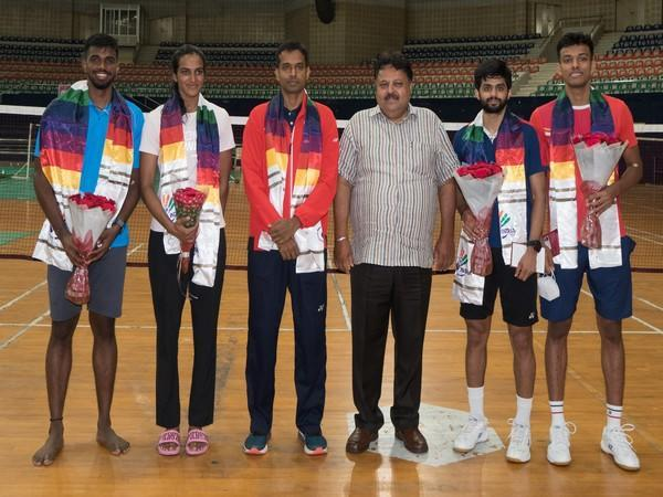 BAI General-Secretary interacts with Olympic-bound shuttlers