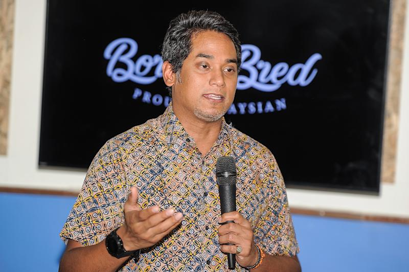 Rembau MP Khairy Jamaluddin said the BN anchor's performance since the May 9 general election has been mediocre. — Picture by Shafwan Zaidon