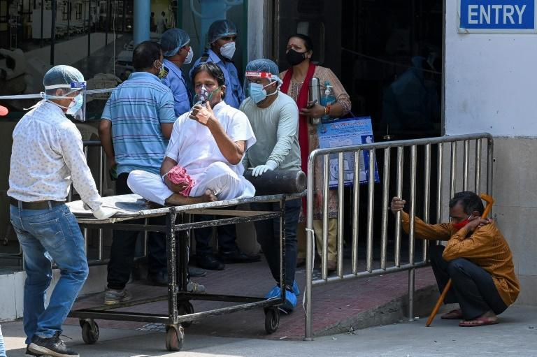 An explosion in Covid-19 cases has overwhelmed hospitals