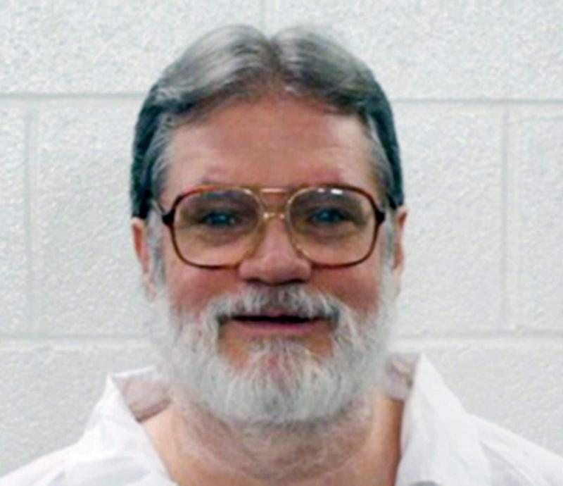 Bruce Earl Ward, whose execution was stayed by the Arkansas Supreme Court - Arkansas Department of Correction/AP