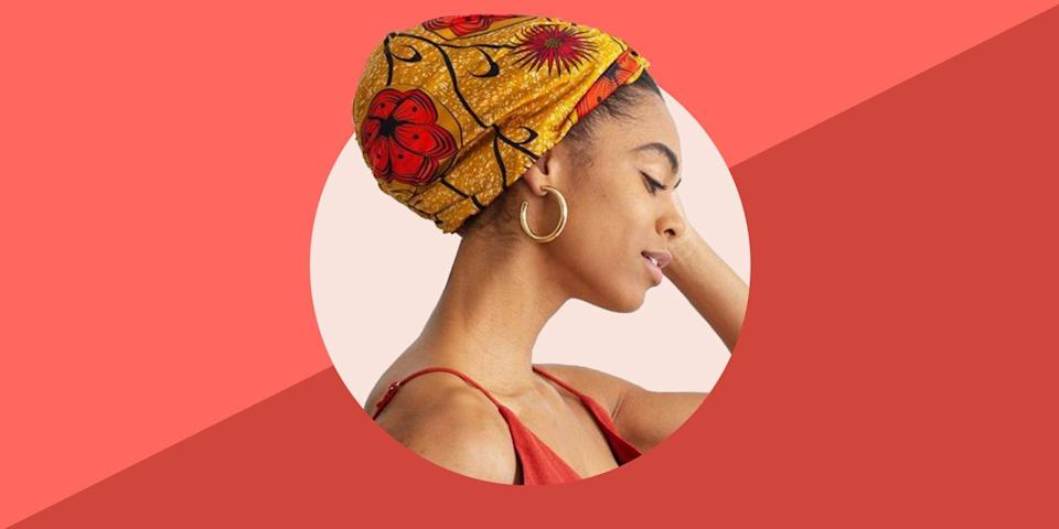 """<p>If your hair leans toward natural curled or coiled textures, then you're probably familiar with using a hair bonnet. But for those of you who don't know, hair bonnets are an essential hair care product for extending the life of hairstyles, preventing frizz, and retaining moisture while you sleep. </p><p>According to celebrity hairstylist <a href=""""https://www.instagram.com/cheryltbergamyhair/"""" rel=""""nofollow noopener"""" target=""""_blank"""" data-ylk=""""slk:Cheryl Bergamy"""" class=""""link rapid-noclick-resp"""">Cheryl Bergamy</a>, bonnets serve as silk hair protectors that """"help reduce friction caused by laying on a cotton pillow which causes split ends, knotting, frizz, tangles and hair damage."""" Similar to increasingly popular silk pillowcases, Bergamy says silk bonnets also """"help keep moisture in the hair while cotton pillows or scarves absorb natural oils, leaving hair dry and brittle.""""</p><p>Bonnets are great for """"free-flowing styles,"""" like ringlets, curls, beach waves, twist out, soft curls, and more. Another perk? They prevent your curls from getting flat since they give your hair the freedom to move while you sleep.</p><h3 class=""""body-h3"""">The Best Hair Bonnets</h3><ul><li><strong>Best Overall: </strong><a href=""""https://go.redirectingat.com?id=74968X1596630&url=https%3A%2F%2Fwww.graceeleyae.com%2Fcollections%2Fge-luxe-collection%2Fproducts%2Fall-silk-turban-mustard-floral&sref=https%3A%2F%2Fwww.bestproducts.com%2Fbeauty%2Fg36597377%2Fbest-hair-bonnets%2F"""" rel=""""nofollow noopener"""" target=""""_blank"""" data-ylk=""""slk:Grace Eleyae All Silk Turban"""" class=""""link rapid-noclick-resp"""">Grace Eleyae All Silk Turban</a></li><li><strong>Best Budget: </strong><a href=""""https://www.amazon.com/Evolve-Satin-Wide-Bonnet-Black/dp/B07GF3P75V/ref=sr_1_5?tag=syn-yahoo-20&ascsubtag=%5Bartid%7C2089.g.36597377%5Bsrc%7Cyahoo-us"""" rel=""""nofollow noopener"""" target=""""_blank"""" data-ylk=""""slk:Evolve Satin Wide Edge Bonnet"""" class=""""link rapid-noclick-resp"""">Evolve Satin Wide Edge Bonnet</a></li><li><strong>Best Satin: </st"""