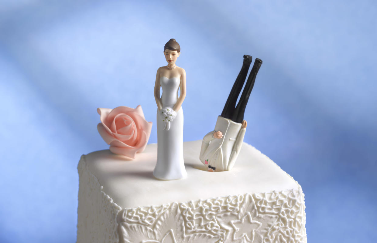 The end of the traditional cake? Modern couples want something personal (Getty)