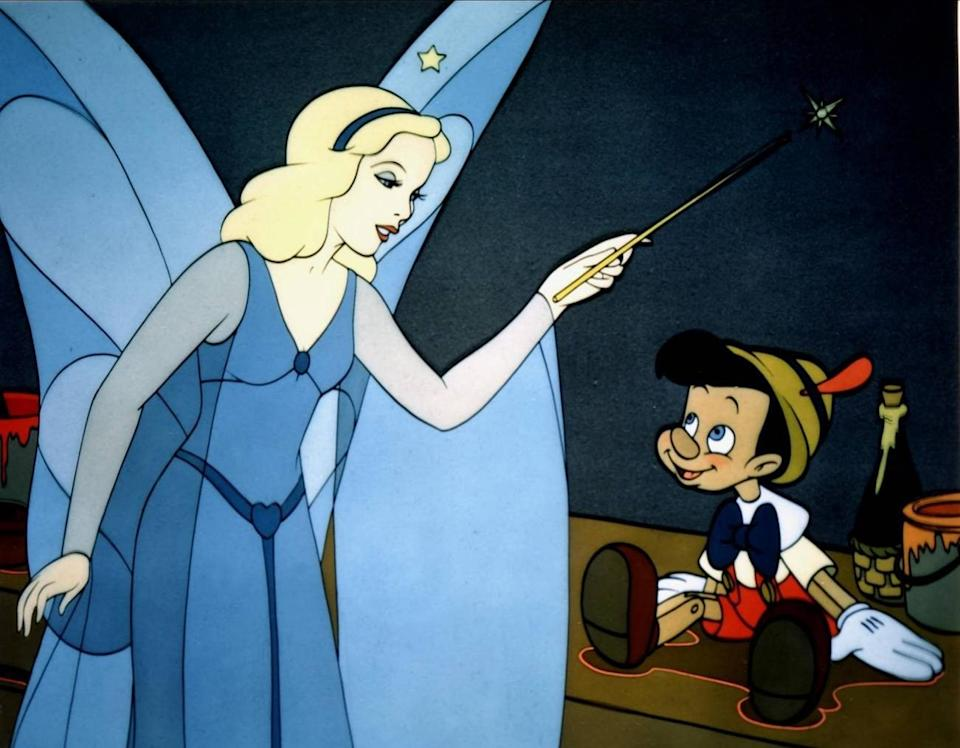 The Blue Fairy in Pinocchio - Alamy