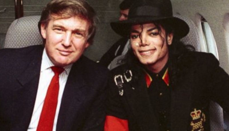 Trump Jr. claims his dad isn't racist because he let his kids hang out with Michael Jackson