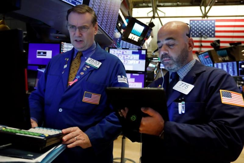 S&P 500 sets new all-time high with Microsoft, AT&T on top
