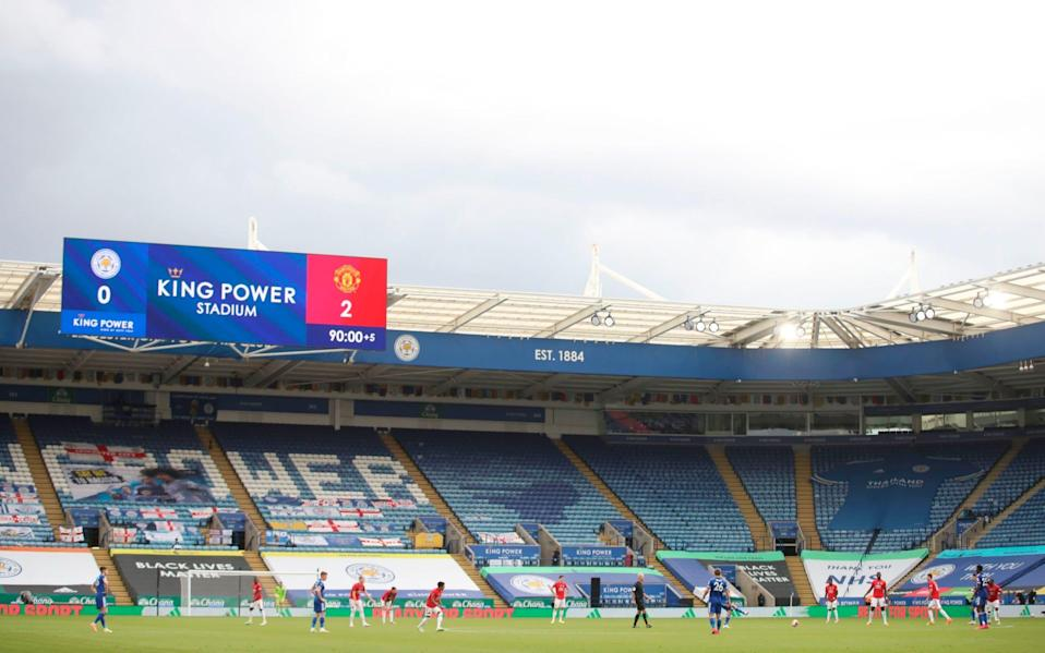 King Power Stadium, Leicester -Backlash expected as Premier League clubs set to vote on continued use of five substitutes - GETTY IMAGES