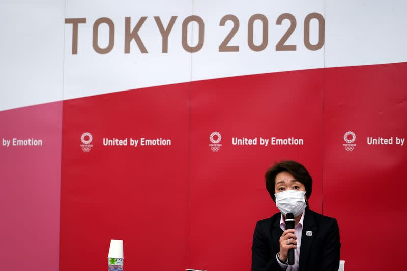 News conference after the International Olympic Committee (IOC) general meeting in Tokyo