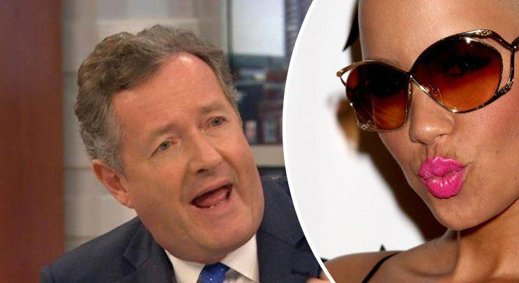 Piers told Amber to 'put it away' after she posted her naked selfie. (ITV/PA)