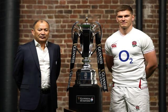 Eddie Jones and his coaches were not present at the team meeting (Steven Paston/PA)