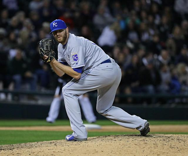 The Royals would want a lot to trade Wade Davis. (Getty Images)