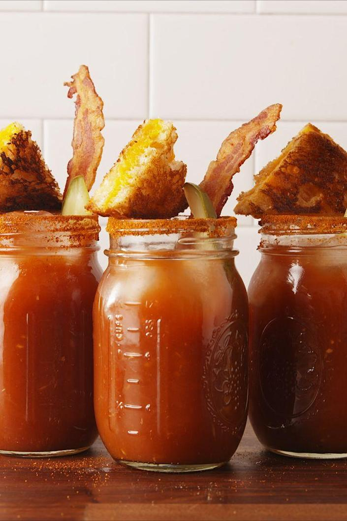 "<p>The cocktail version of grilled cheese and tomato soup.</p><p>Get the recipe from <a href=""https://www.delish.com/cooking/recipe-ideas/recipes/a55899/grilled-cheese-bloody-mary-recipe/"" rel=""nofollow noopener"" target=""_blank"" data-ylk=""slk:Delish"" class=""link rapid-noclick-resp"">Delish</a>.</p>"