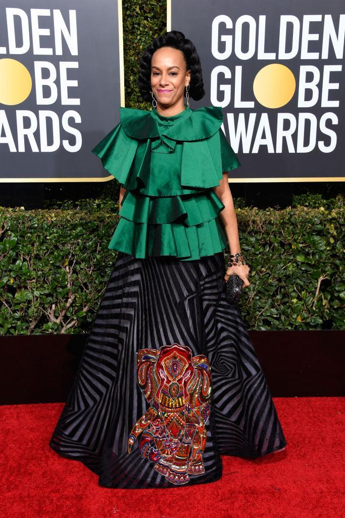 <p>Amatus Sami-Karim attends the 76th Annual Golden Globe Awards at the Beverly Hilton Hotel in Beverly Hills, Calif., on Jan. 6, 2019. (Photo: Getty Images) </p>