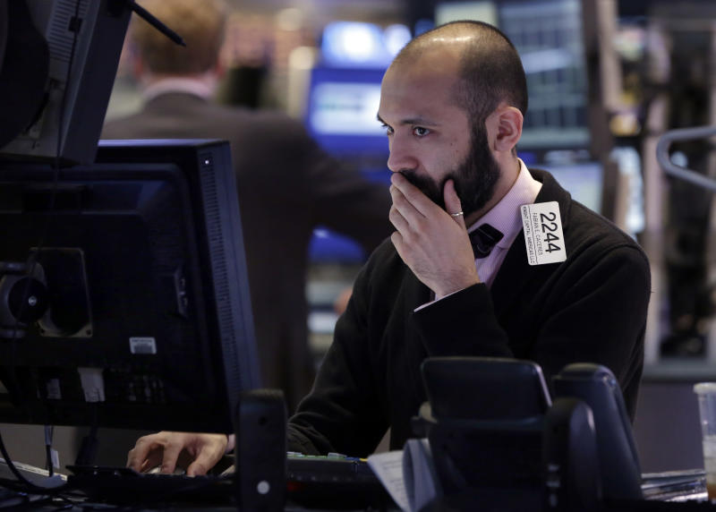 Stocks drop as economy put brakes on stock rally