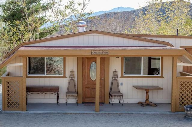 <p>If you're looking for something more North American, this carriage house in Morongo Valley, Calif., may be perfect for you. (Airbnb) </p>