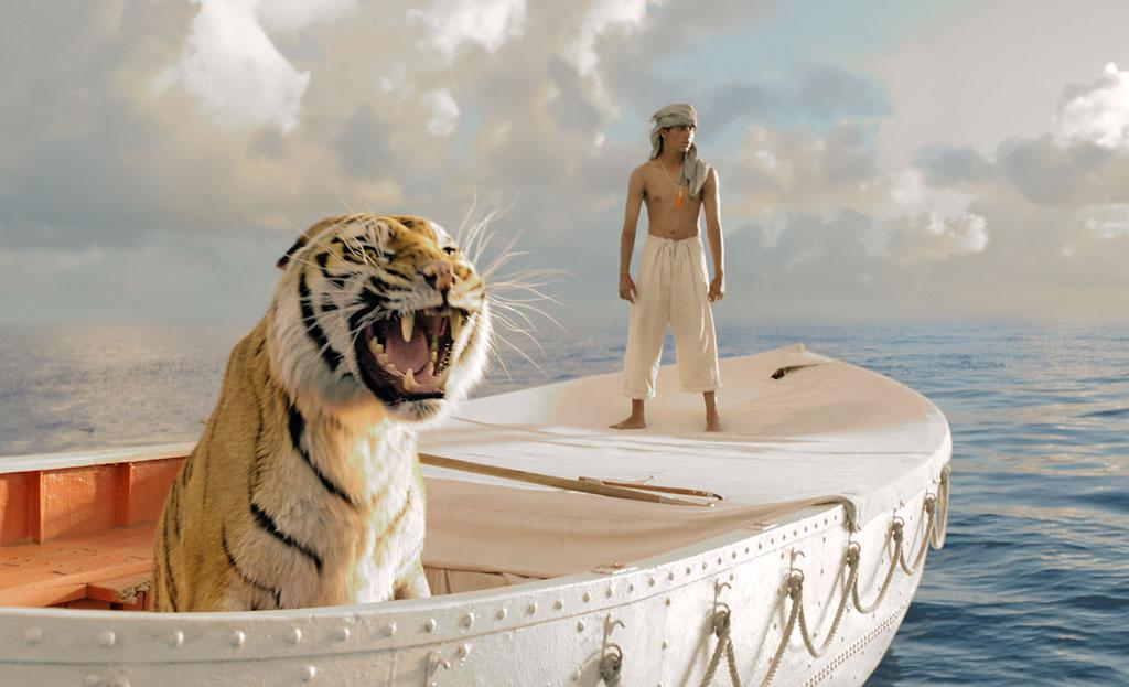 """Life of Pi"" Bill Westenhofer, Guillaume Rocheron, Erik-Jan De Boer and Donald R. Elliott"
