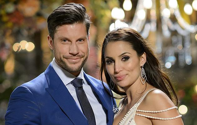 Sam Wood and Snezana Markoski. Photo: Channel Ten.