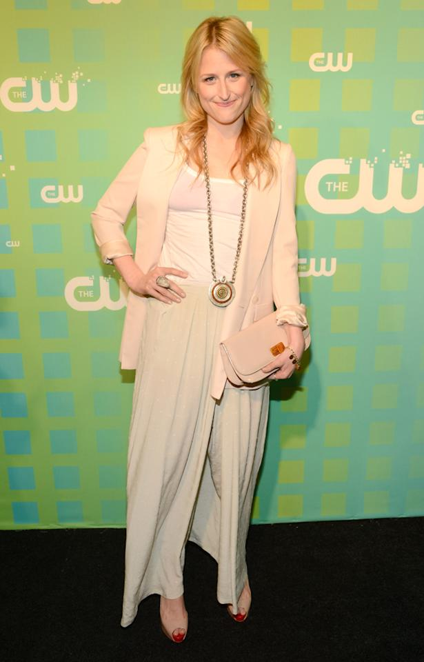 """Mamie Gummer (""""Emily Owens, M.D."""") attends The CW's 2012 Upfronts on May 17, 2012 in New York City."""