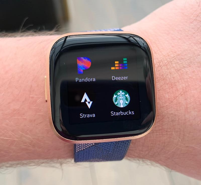 The Fitbit Versa 2's display is the best screen Fitbit has ever produced. (Image: Howley)