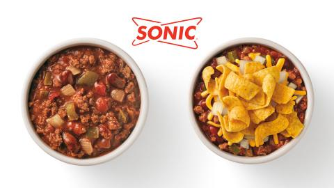 A New Year and SONIC Drive-In's New Hearty Chili Bowl