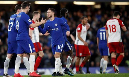 Eden Hazard and Victor Moses relieve Chelsea pressure in West Brom win