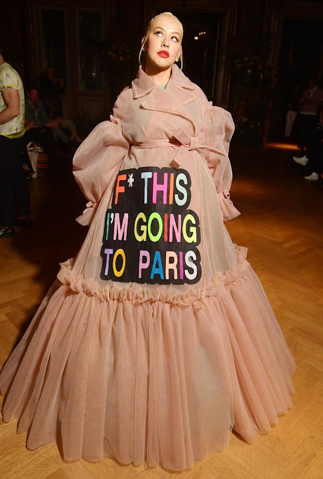 0f8144a3ab1 Every Can't-Miss Celebrity Sighting at Paris Haute Couture Fashion Week