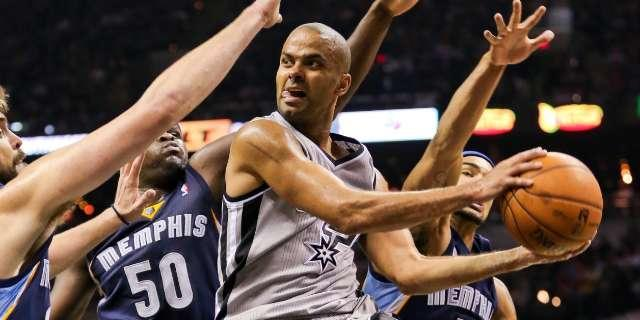 Watch all of Tony Parker's career-high 18 assists in Spurs' Game 2 win over Grizzlies (Video)