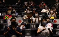 Public viewing event for Tokyo 2020 Olympic Games in Takasaki