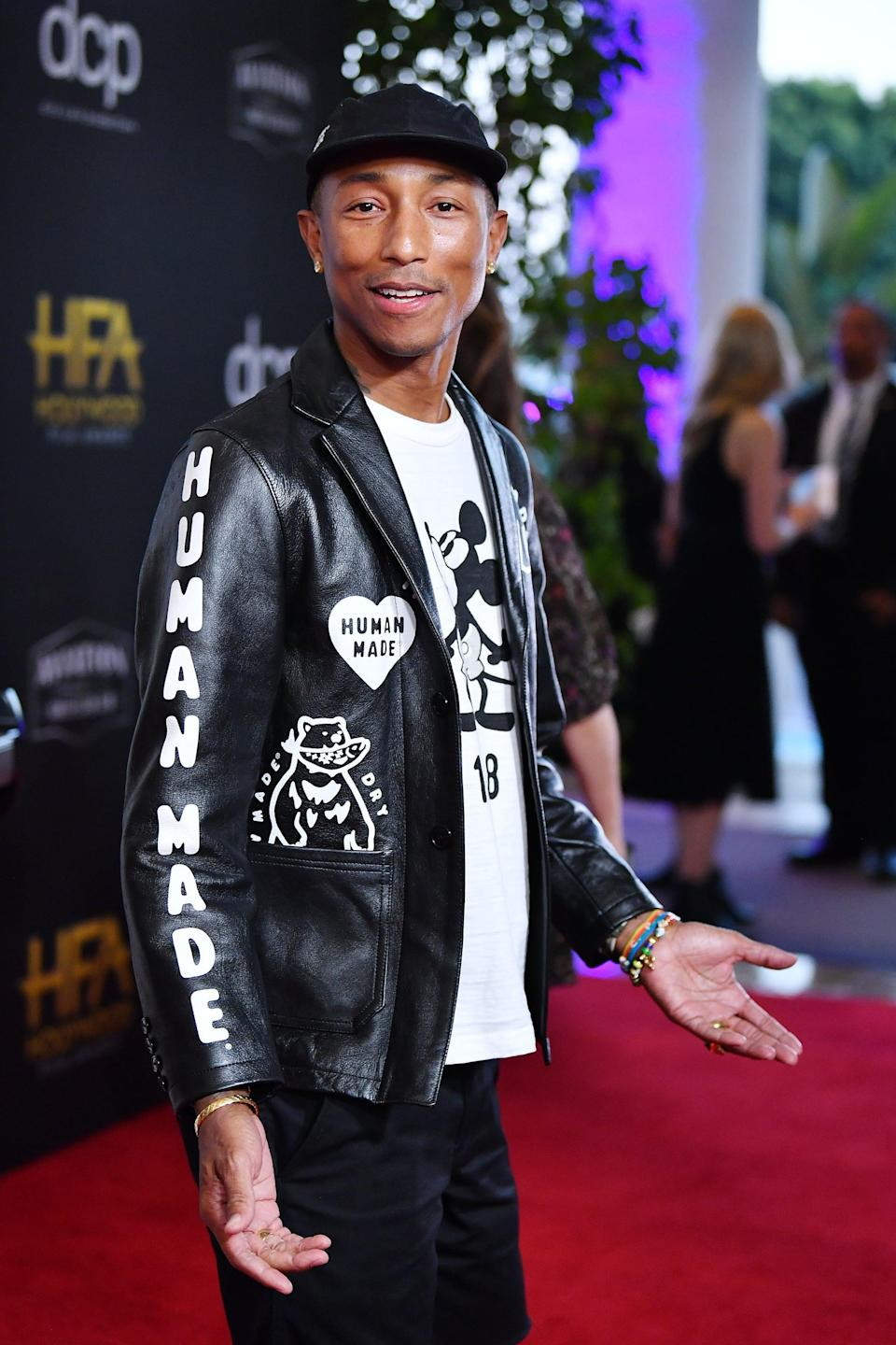 <p>The rapper and producer took extraordinary measures to remove a few of his tattoos. In 2008, Williams had a skin graft - a surgical procedure that involves transplanting healthy skin from one part of the body to another - in addition to getting laser treatment for his arm tattoos. </p>
