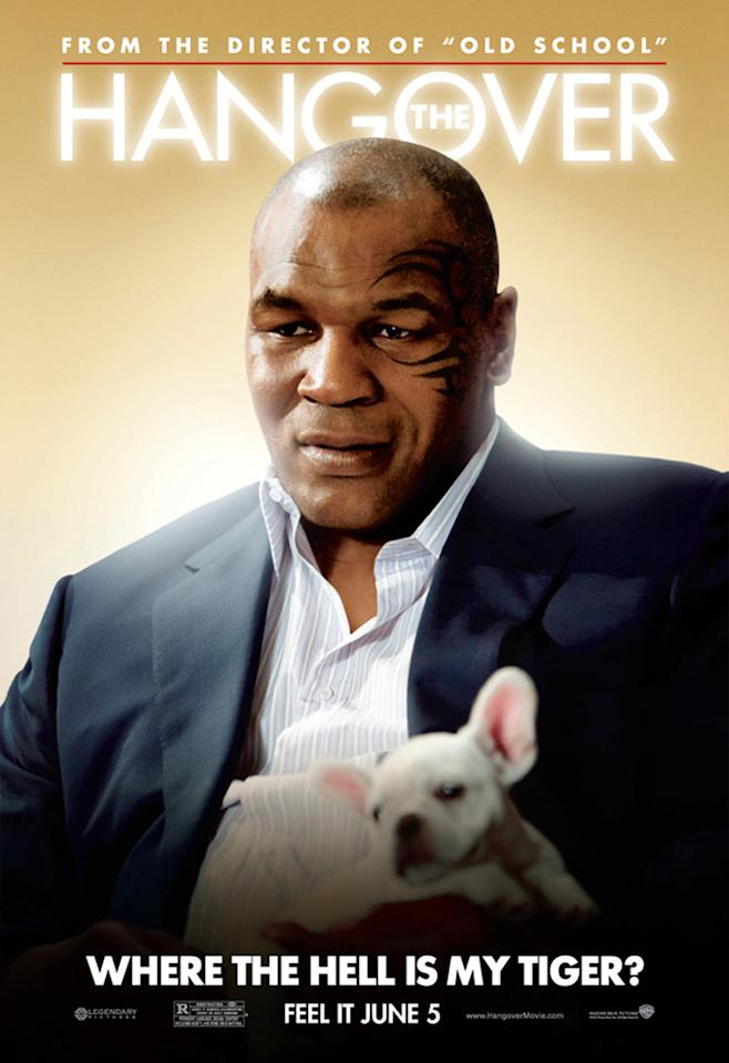 "<a href=""http://movies.yahoo.com/movie/contributor/1800034966"">Mike Tyson</a> in Warner Bros. Pictures' <a href=""http://movies.yahoo.com/movie/1810044687/info"">The Hangover</a> - 2009"