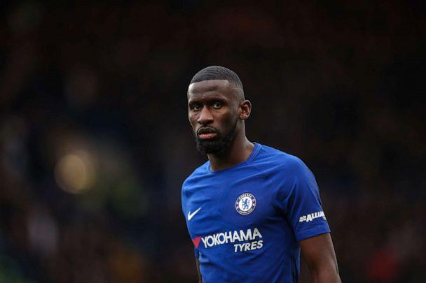 PHOTO: Antonio Rudiger of Chelsea is seen during the Premier League match between Chelsea and Tottenham Hotspur at Stamford Bridge on April 1, 2018 in London. (AMA via Getty Images, FILE)