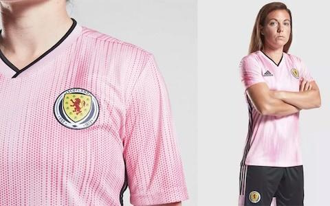 Scotland away kit, 2019 Women's World Cup - Credit: ADIDAS